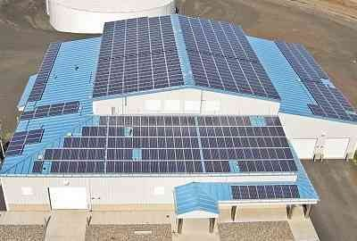 The City of Pendleton Wastewater Plant Solar Project