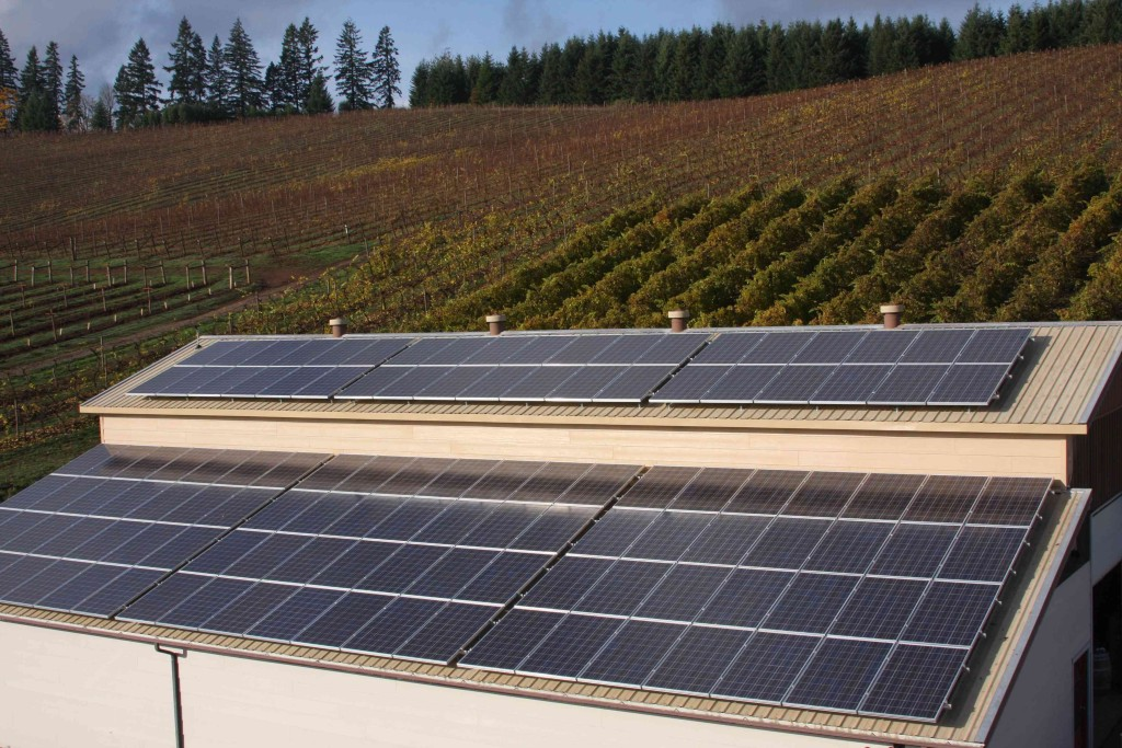 Pfeiffer Vineyards – 1st Oregon Winery to go Solar