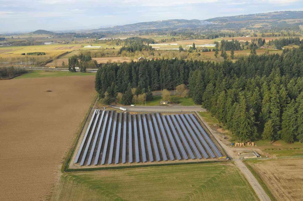 Baldock Rest Area – Oregon Solar Highway Project