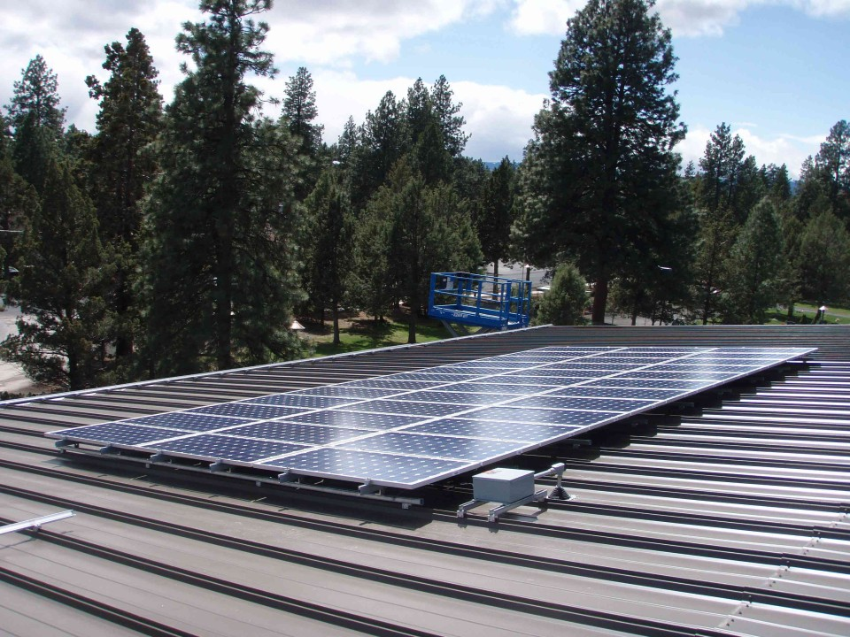 Bend Transit Center PV Array