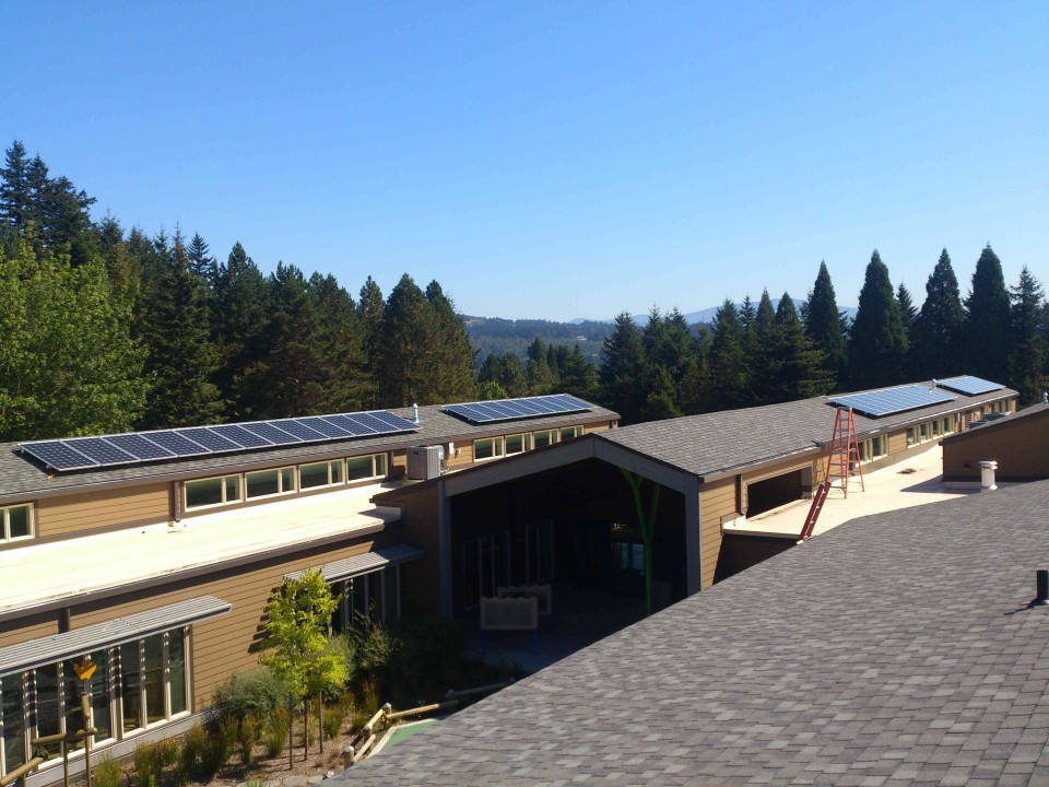 Mt Hood Community College Childcare Center Solar Project