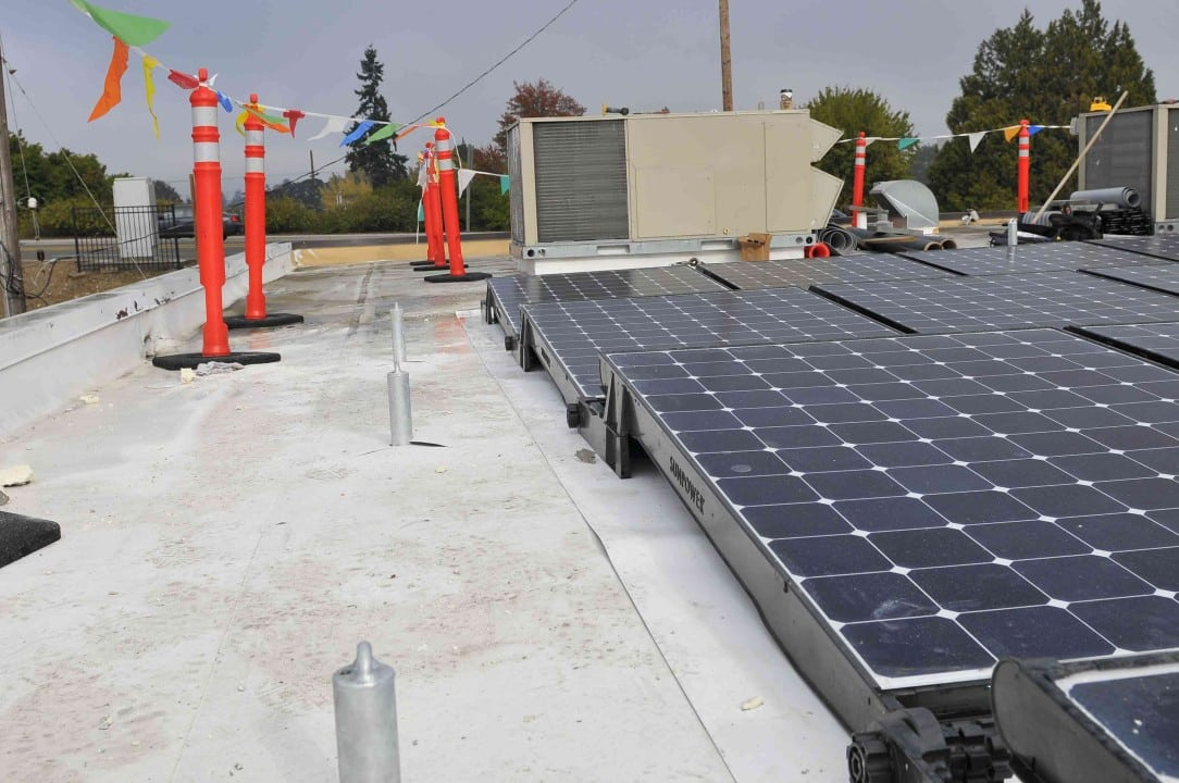 Solar installed at Albany Helping Hands by Advanced Energy Systems, LLC.