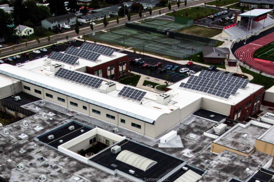 Central High School Solar Array in Monmouth