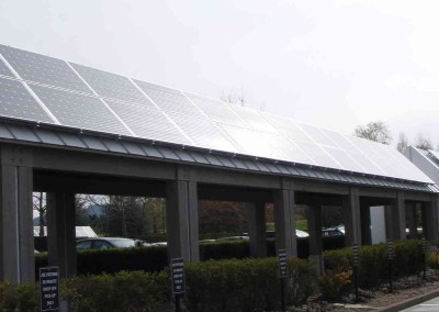 NIKE Headquarters Solar Parking