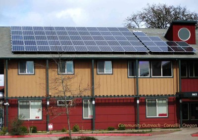 Community Outreach of Corvallis Solar Project