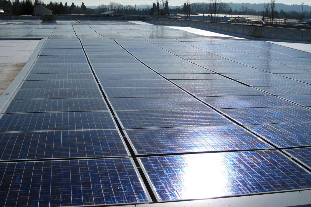 Service Master of Portland Commercial Solar Project