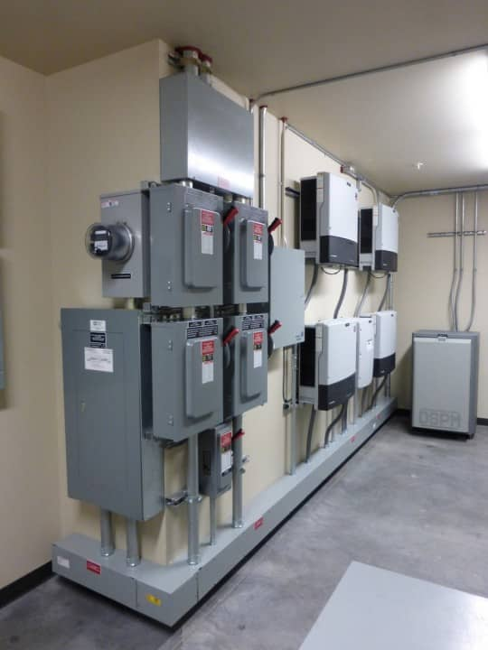 Southern Oregon University - Solar Photovoltic System - Ashland, Oregon - Inverters(3)