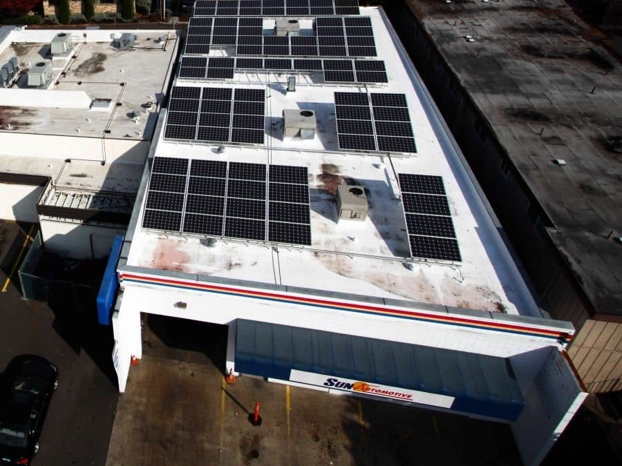 Sun Automotive PV Project in Eugene