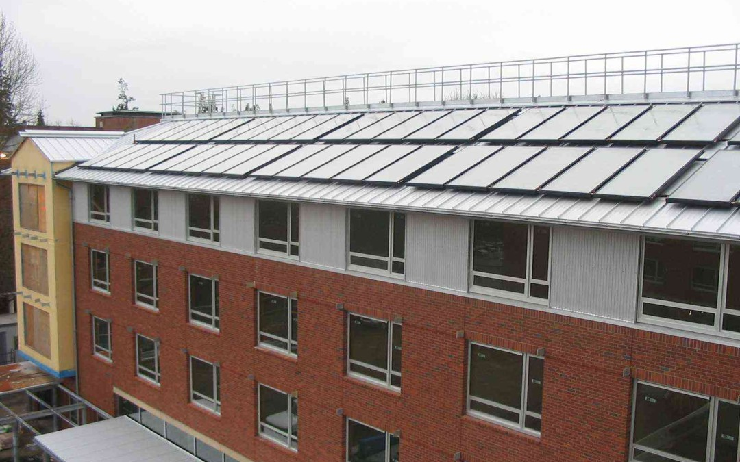 University of Oregon Living Learning Center – Solar Hot Water Project