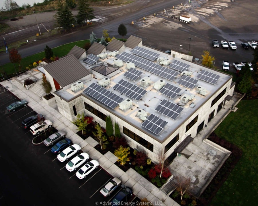 Wildish Construction Company Headquarters PV Project