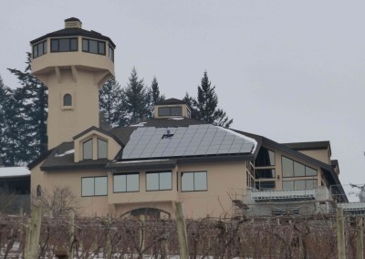 Willamette Valley Vineyards – Solar Electric and Water Heating