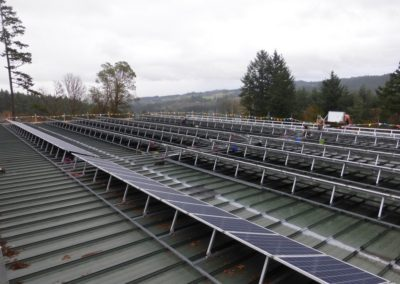 Willamette Valley Vineyards Warehouse – Salem, Oregon (89.5kW)