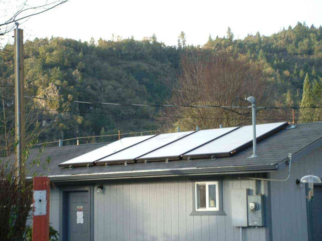 Surprise Valley RV Park – Solar Thermal